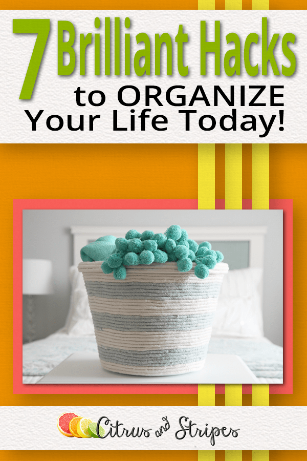 An organized home is a breath of fresh air. We would all love to pretend we live in one of those magazine homes but we don't. Make your home FEEL like a magazine cover with these essential tips to organize easily! #organized #organization