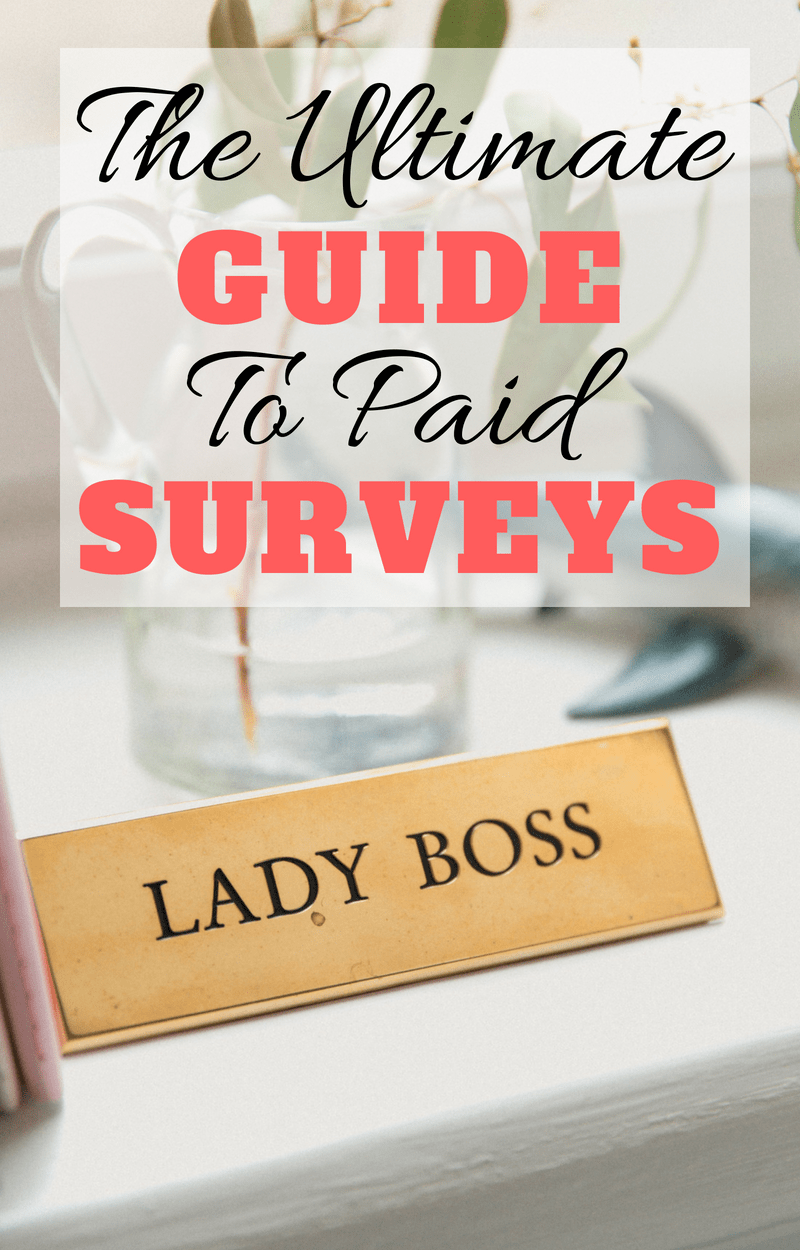 The best paid survey websites to earn extra cash today! Make a side income from home by taking simple surveys. All of these sites are completely free to sign up for. #surveysites #bestsurveys #workfromhome #sidehustle #makemoneyonline #extraincome