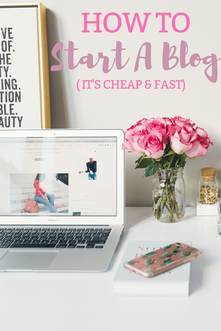 Start a blog today and MAKE MONEY BLOGGING! There is so much more to it and it's an AMAZING income source for a stay at home mom or someone who wants extra money!