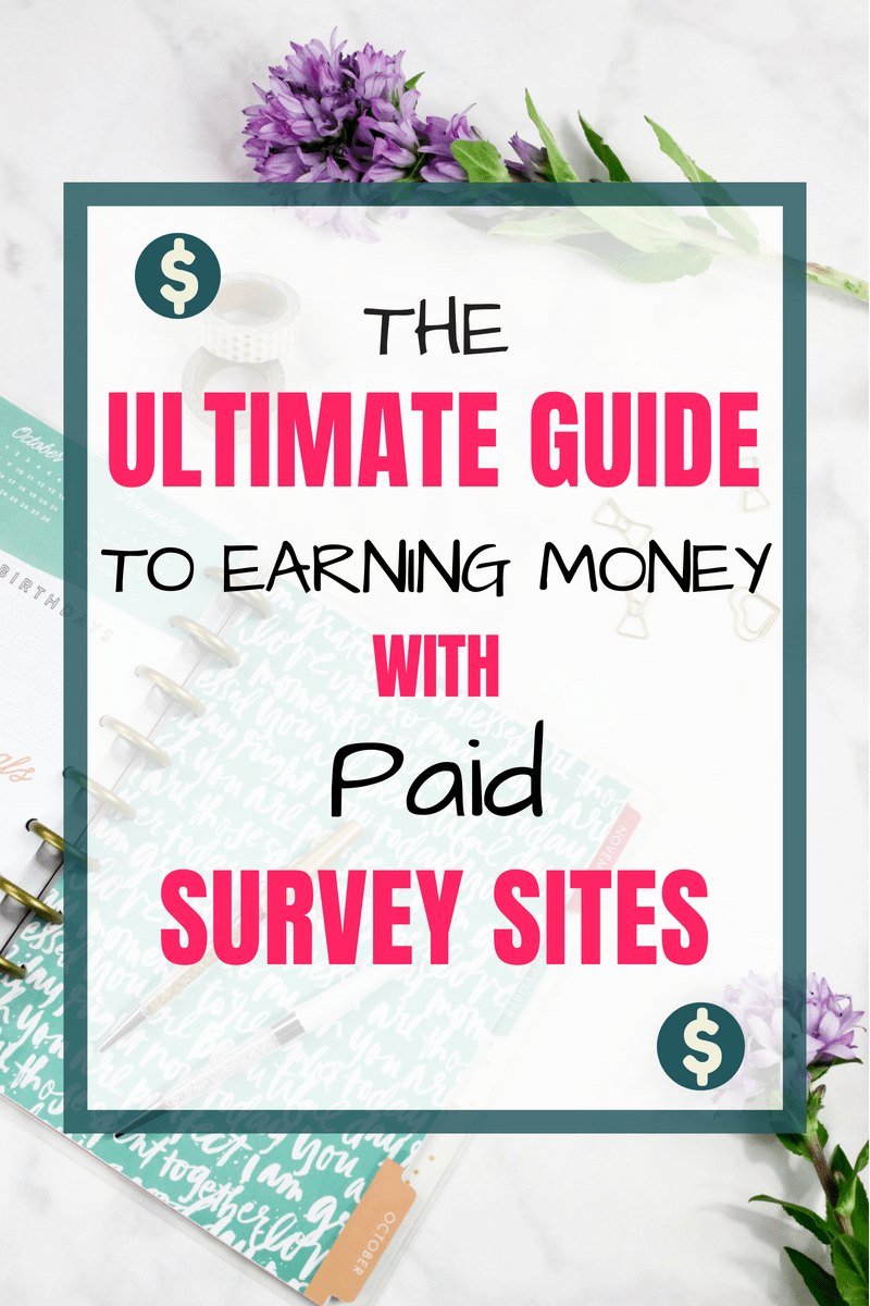 A great way to make extra money that doesn't require a lot of work! Online survey websites are perfect! These are the best paid survey websites according to my rep - you can make extra cash answering questions & giving your opinion in your spare time. Goodness knows, you could even earn extra money while you're standing in line at the grocery store! | quick money making ideas, extra money monthly, easy side gigs