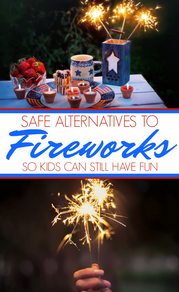 Safe alternatives to fireworks