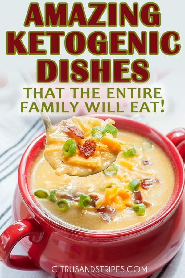 Amazing ketogenic dishes
