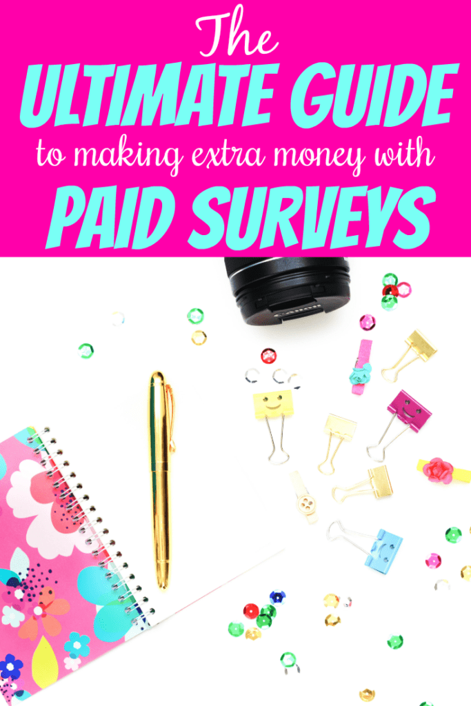 The best survey sites to earn extra cash today! Make a side income from home by taking simple surveys. All of these sites are completely free to sign up for. #surveysites #bestsurveys #workfromhome #sidehustle #makemoneyonline #extraincome width=