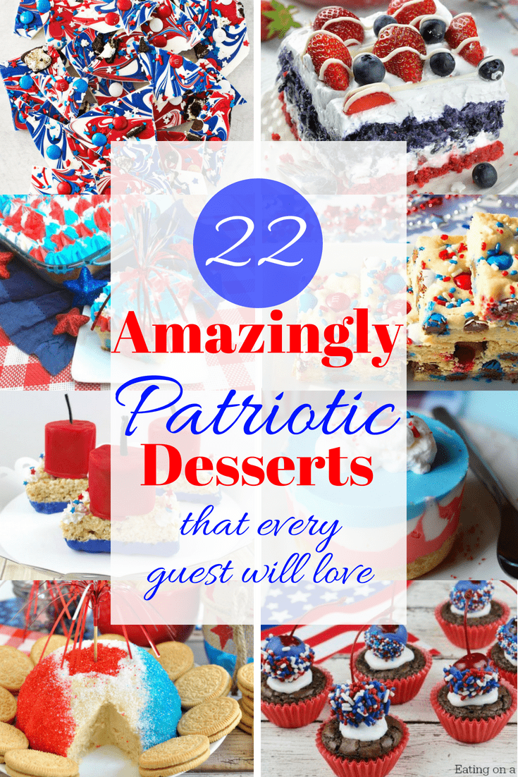 22 Irresistible Fourth of July Desserts