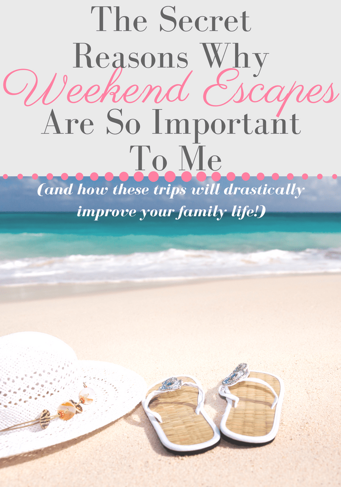 Weekend getaways can seem like a hassle sometimes but they are so healthy for you mammas! Just a short road trip, weekend camping trip, or mini vacation can do a ton for your energy and mom burnout! #vacation #familygetaway #weekendtrip #minivacay #momburnout