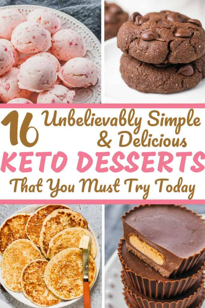 Easy Ketogenic Dessert Ideas