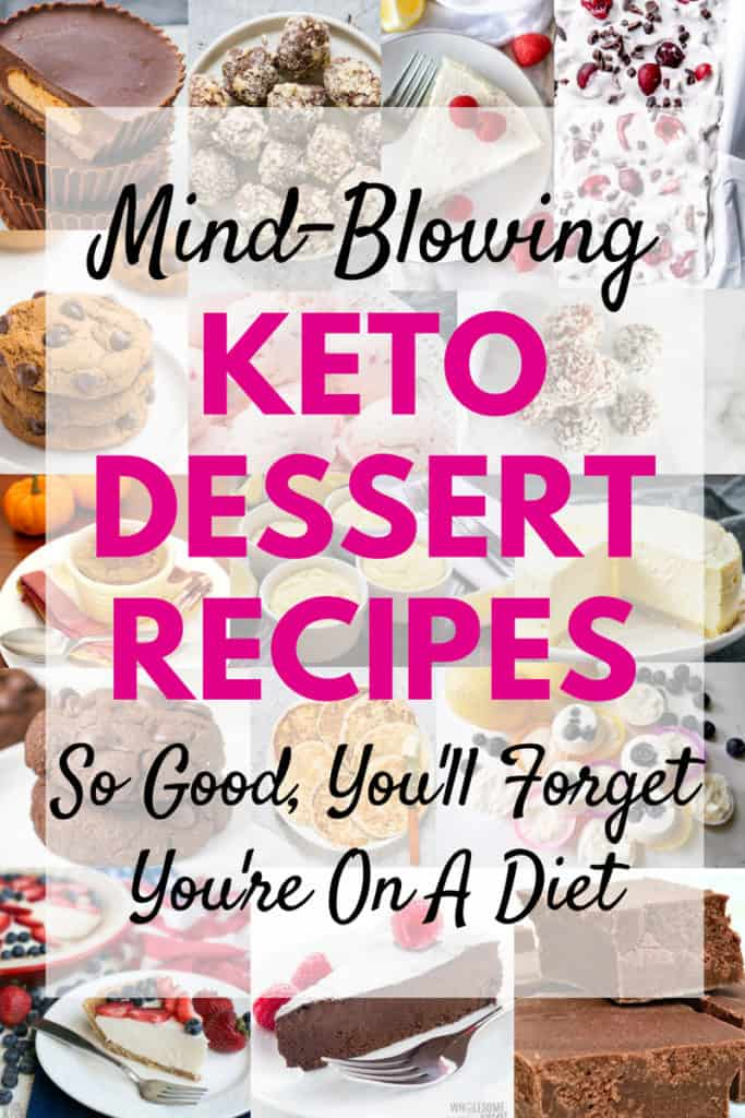 Keto Desserts perfect for any low-carb diet!