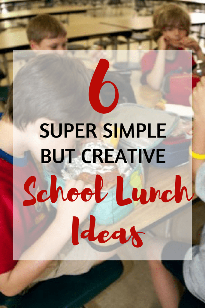 School lunches don't have to be an added stress this back to school season! Check out these awesome ideas to keep school lunches healthy, simple, and fun!