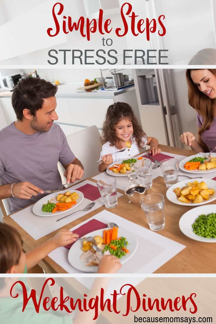 Make Weeknight Dinner Easy