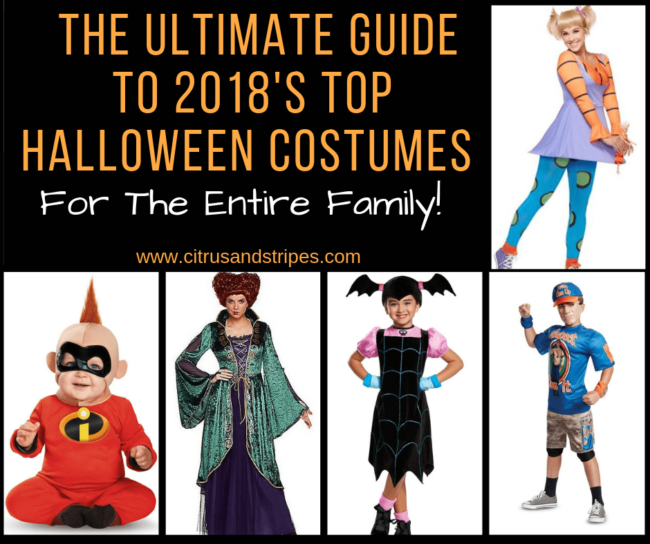 The Ultimate Guide to 2018's Hottest Halloween Costumes for the Family