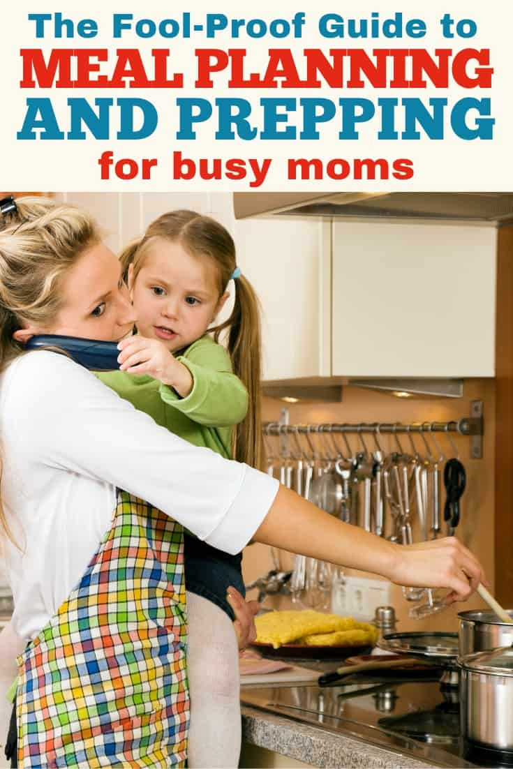 Meal planning and prepping is one of the easiest ways to save time during the week. But, when you're a busy mom, the thought of figuring it out can be overwhelming. This guide is SO helpful in the entire process! #mealplanning #mealprep #motherhood #busymom