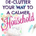 Declutter your home to reduce stress and frustration. Tackle the entire house without feeling overwhelmed with these great organization and decluttering tips and tricks!