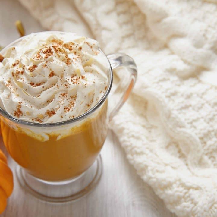 Pumpkin spice latte - starbucks copycat pumpkin spice latte