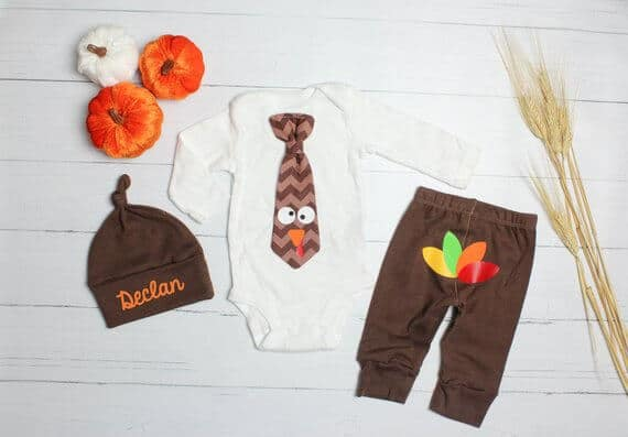 Thanksgiving outfits for every kid. Whether it's their First Thanksgiving, they're toddlers, or you've got older kids, this is the handpicked list of the absolute cutest picks for Turkey Day! All at super affordable prices too! #Thanksgiving #Thanksgivingoutfits #TurkeyDay #FirstThanksgiving
