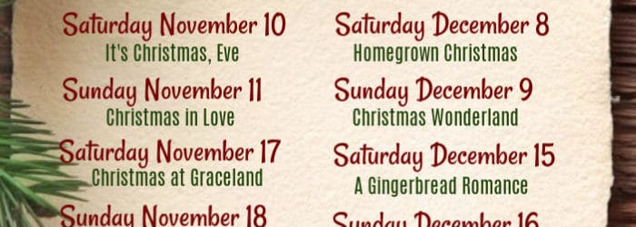 The Full list of every new Hallmark Channel Christmas movie debuting this season! Get in the holiday spirit with these holly jolly movies to enjoy all winter long! #christmas #christmasmovies #hallmark