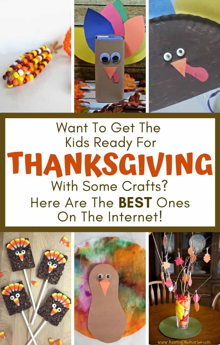 You've got to see these cute and easy crafts the entire family will love this Thanksgiving. These Thanksgiving crafts are a great way to teach your children gratitude during this holiday! There's no better way to practice being thankful than by making these adorable crafts with your kids before Thanksgiving dinner. #Thanksgiving #crafts