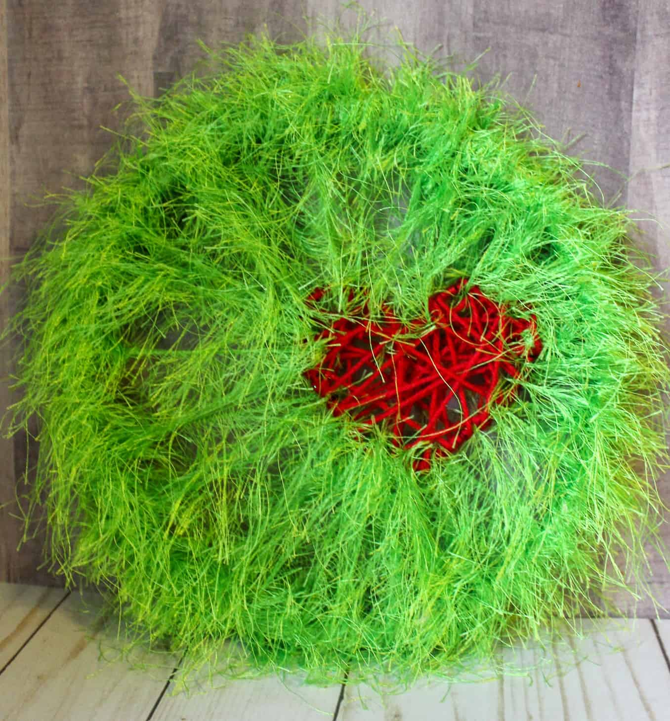 Grinch Christmas Craft