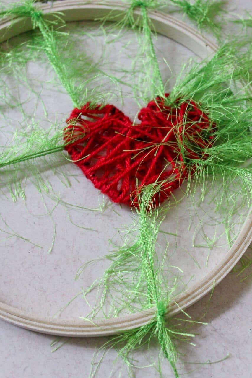 Grinch Christmas Craft for Kids