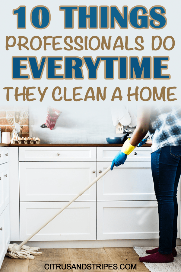 Cleaning tips for a clean home!