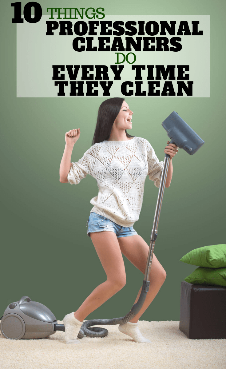 Professional House cleaning tips
