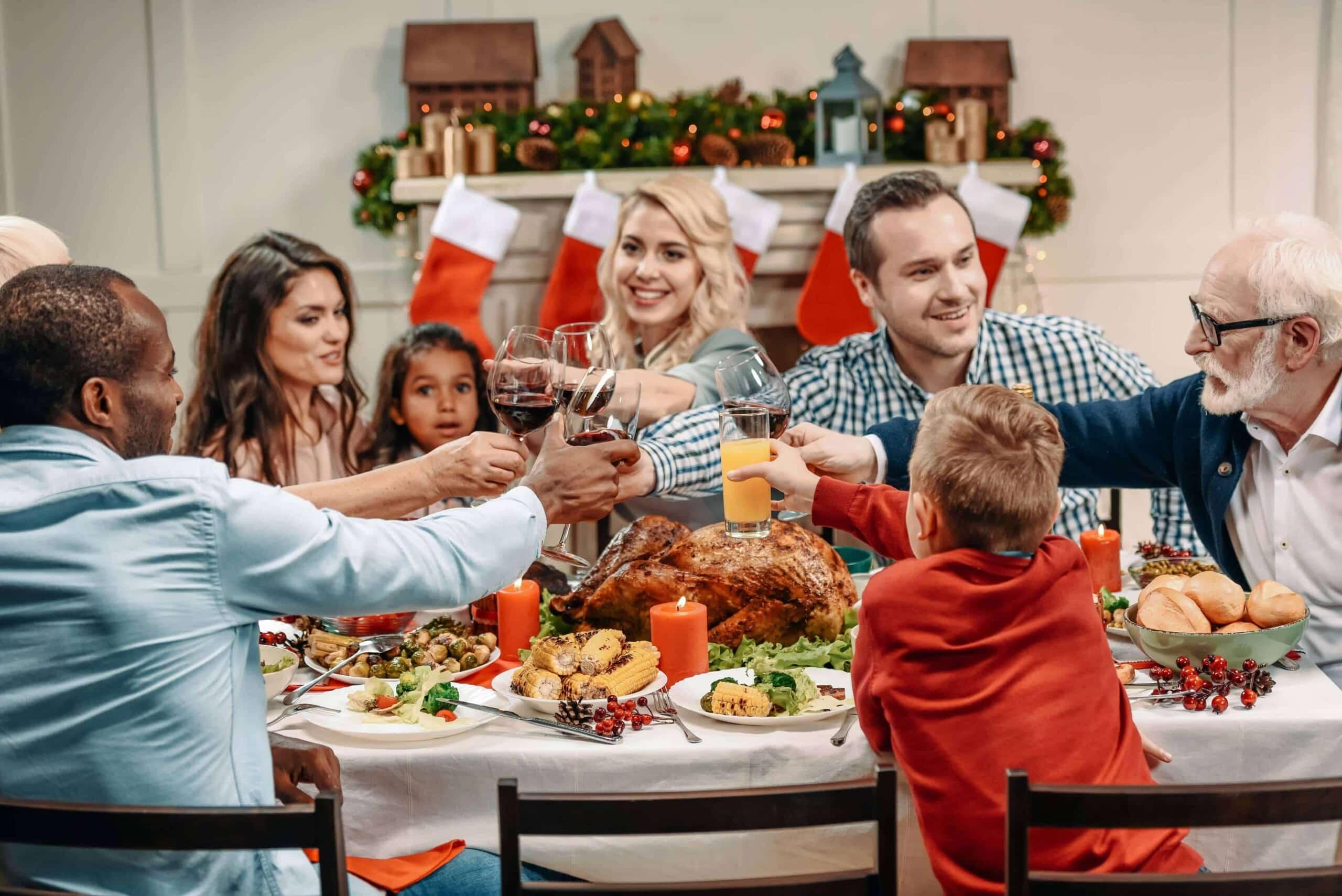 Family tension at Christmas