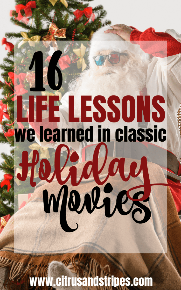 lessons from holiday movies