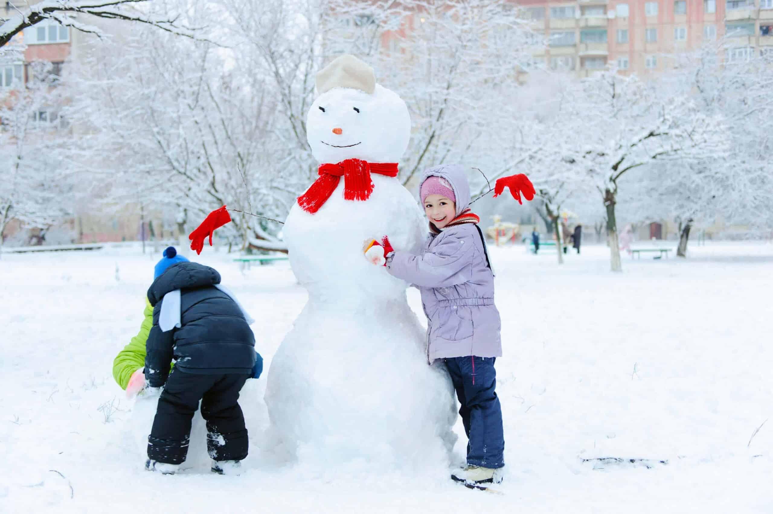 Snow day activities