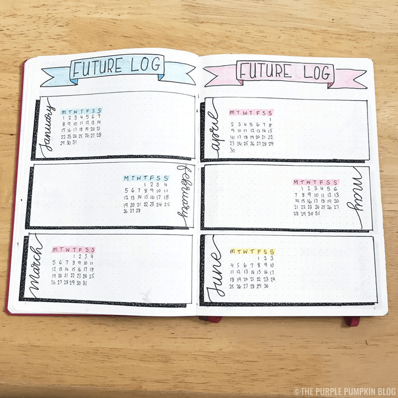 bullet journals for moms