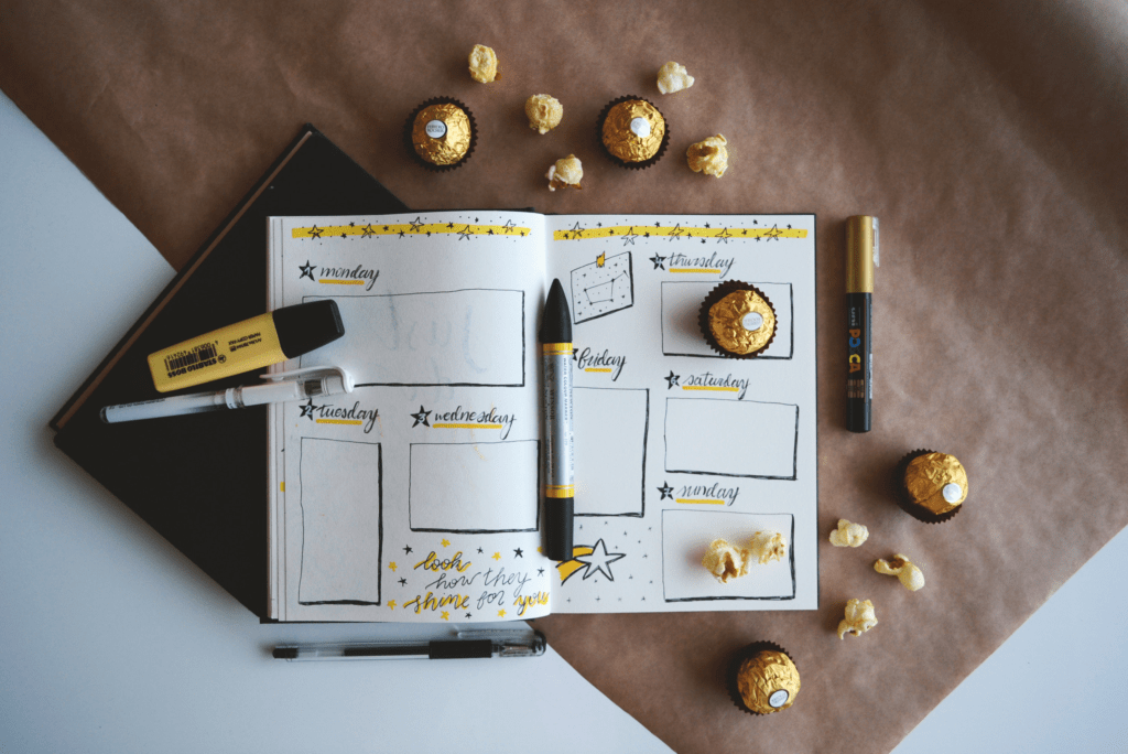bullet journaling for moms
