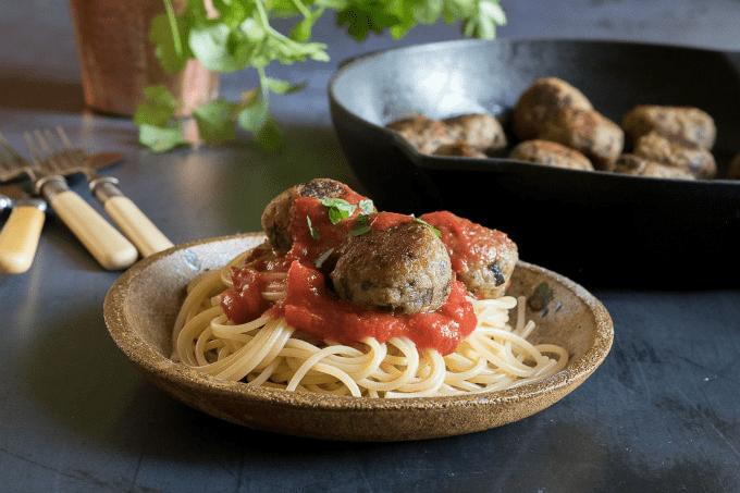 Easy Vegan Eggplant Meatballs
