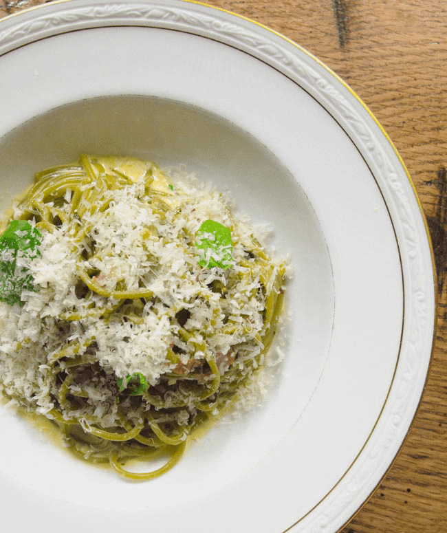 garlic-spaghetti