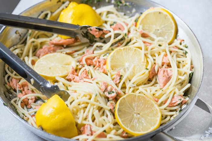 Salmon-Spaghetti