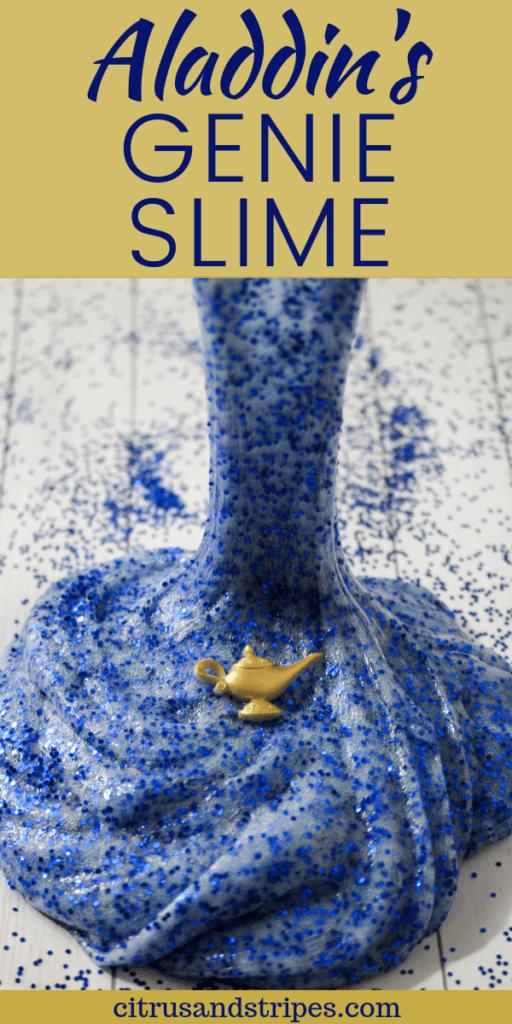 Aladdin Inspired Genie Slime