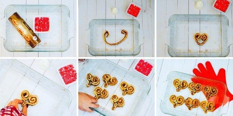 Heart Rolls make the perfect sweetheart breakfast