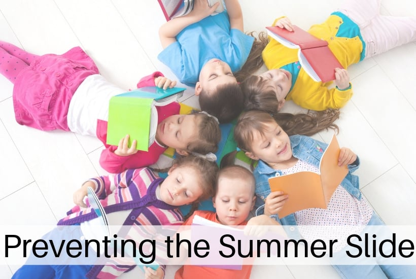 Avoid the summer slide but encouraging kids to read over summer break