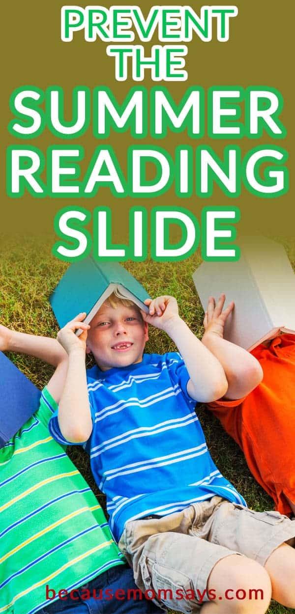 summer reading slide