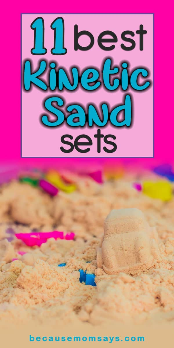 Kinetic Sand Sets