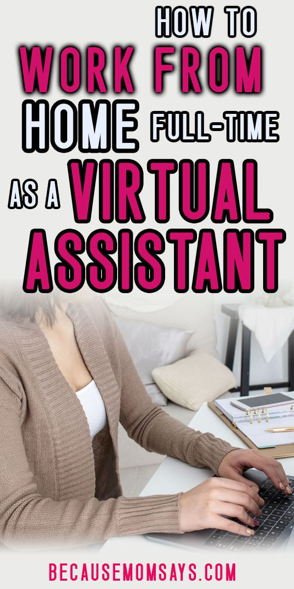 Earn money from home and learn how to become a virtual assistant. Work from home and raise kids.