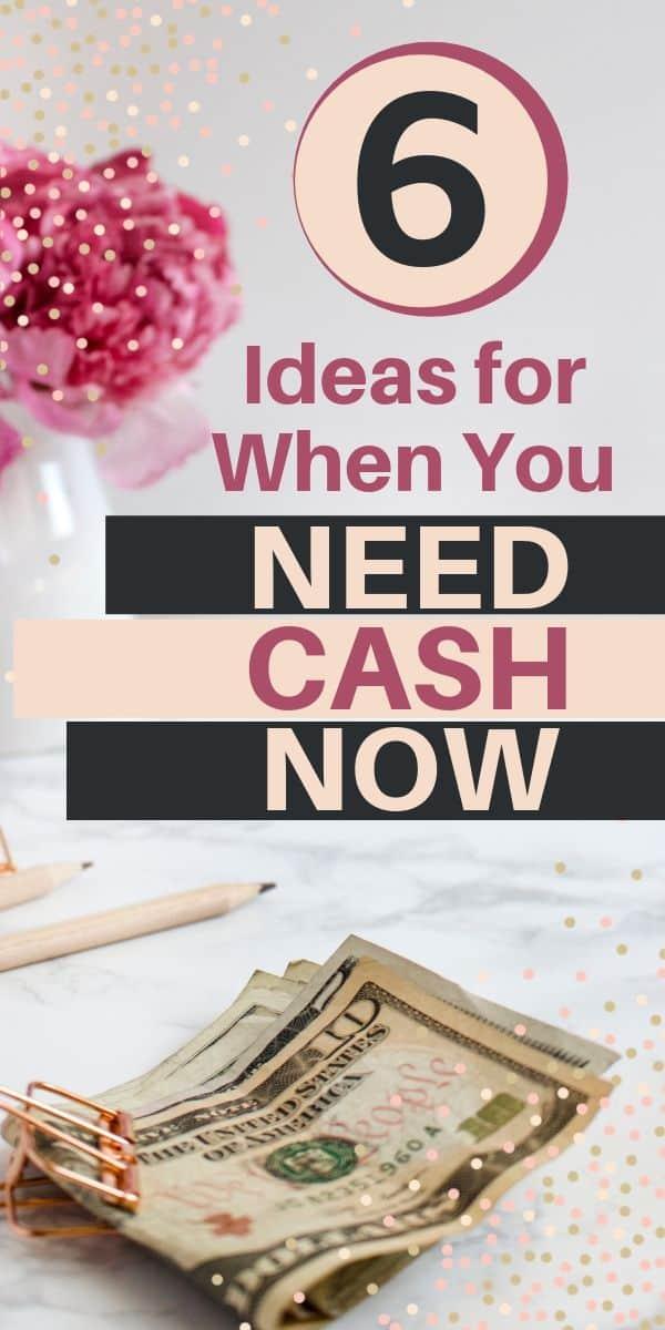 Cash on desk - i Need 100 dollars now