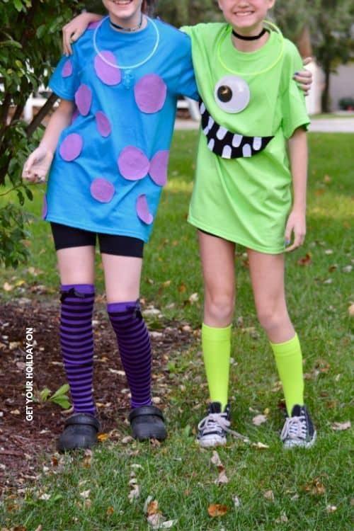 Family Halloween Costume Ideas - Monsters Inc