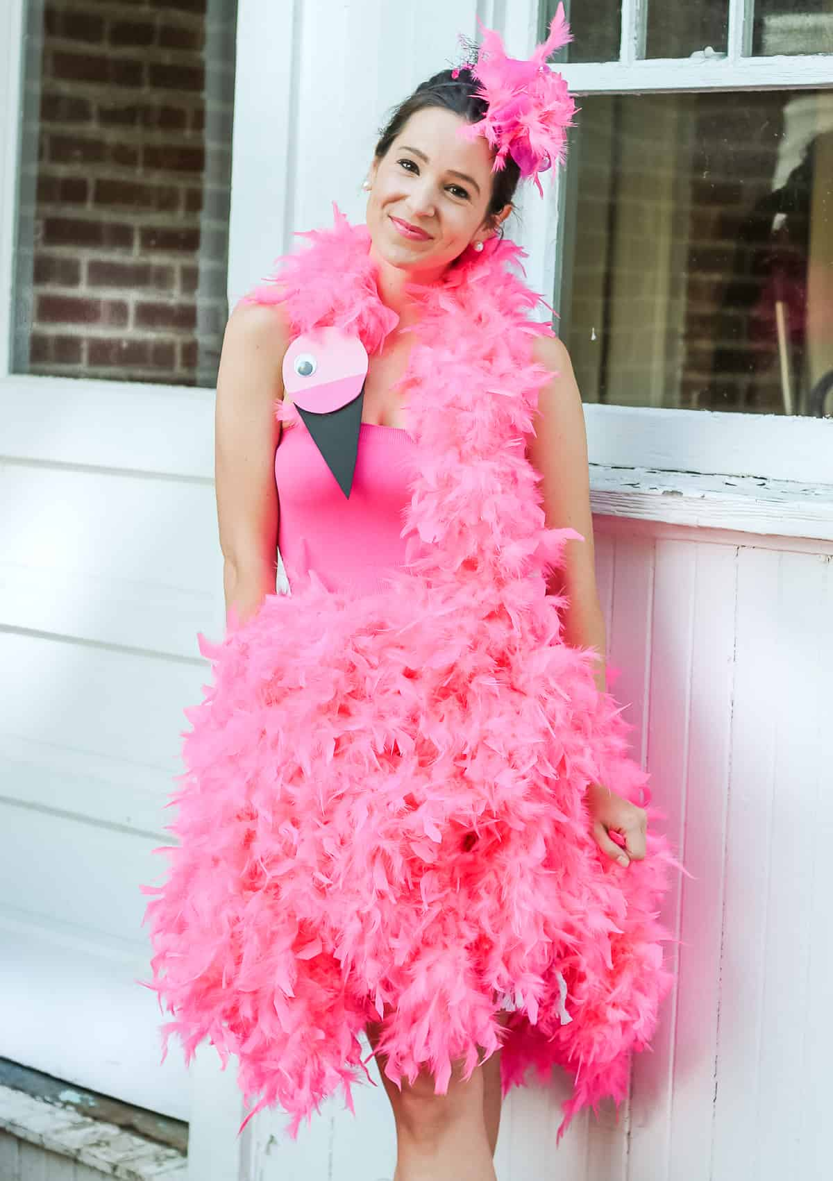 Family Halloween Costume Ideas - Be a Flamingo Family