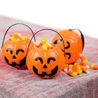 Pumpkin Mini Buckets