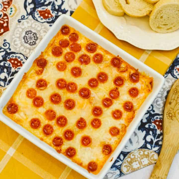 Easy and Delicious Homemade Pizza Dip