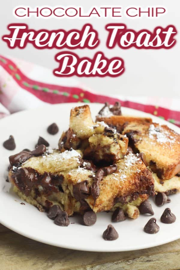 French toast bake served on white dish