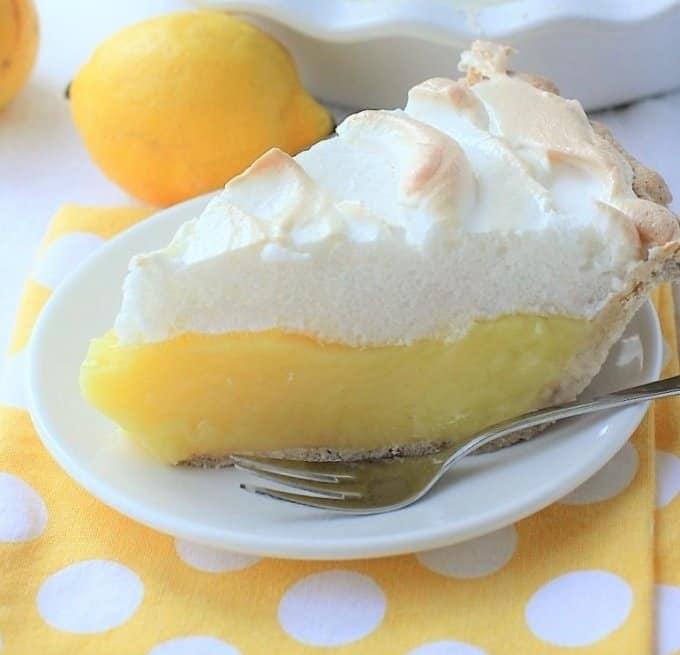 Big Beautiful Lemon Meringue Pie