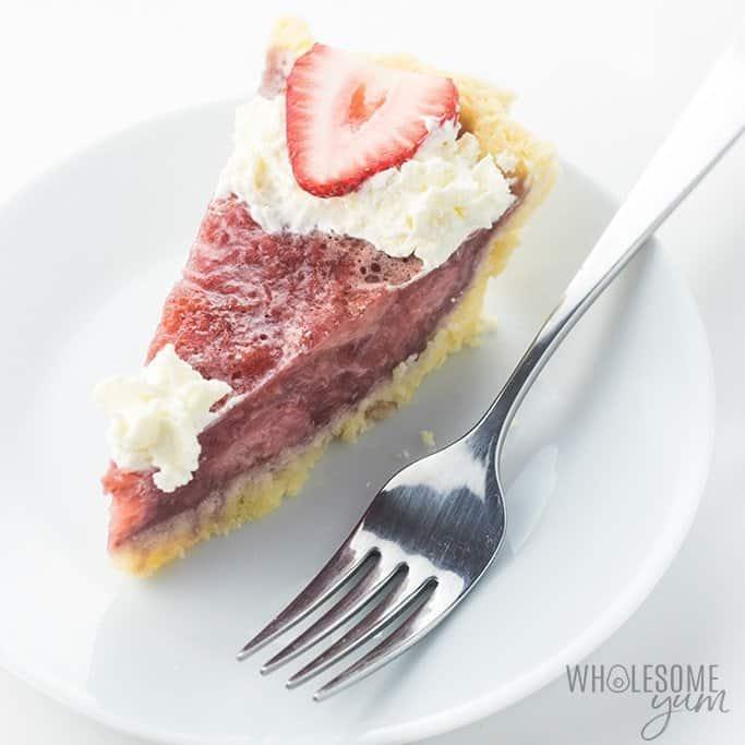 GF SF Strawberry Pie with Gelatin