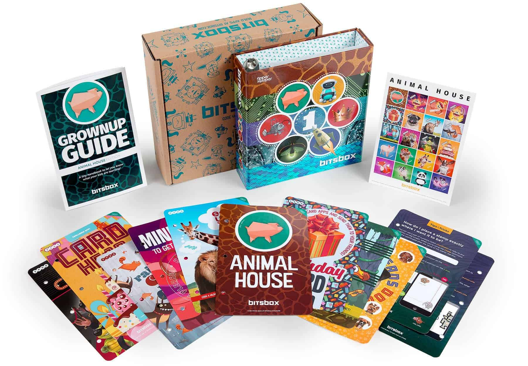 Bitsbox subscription coding box for kids