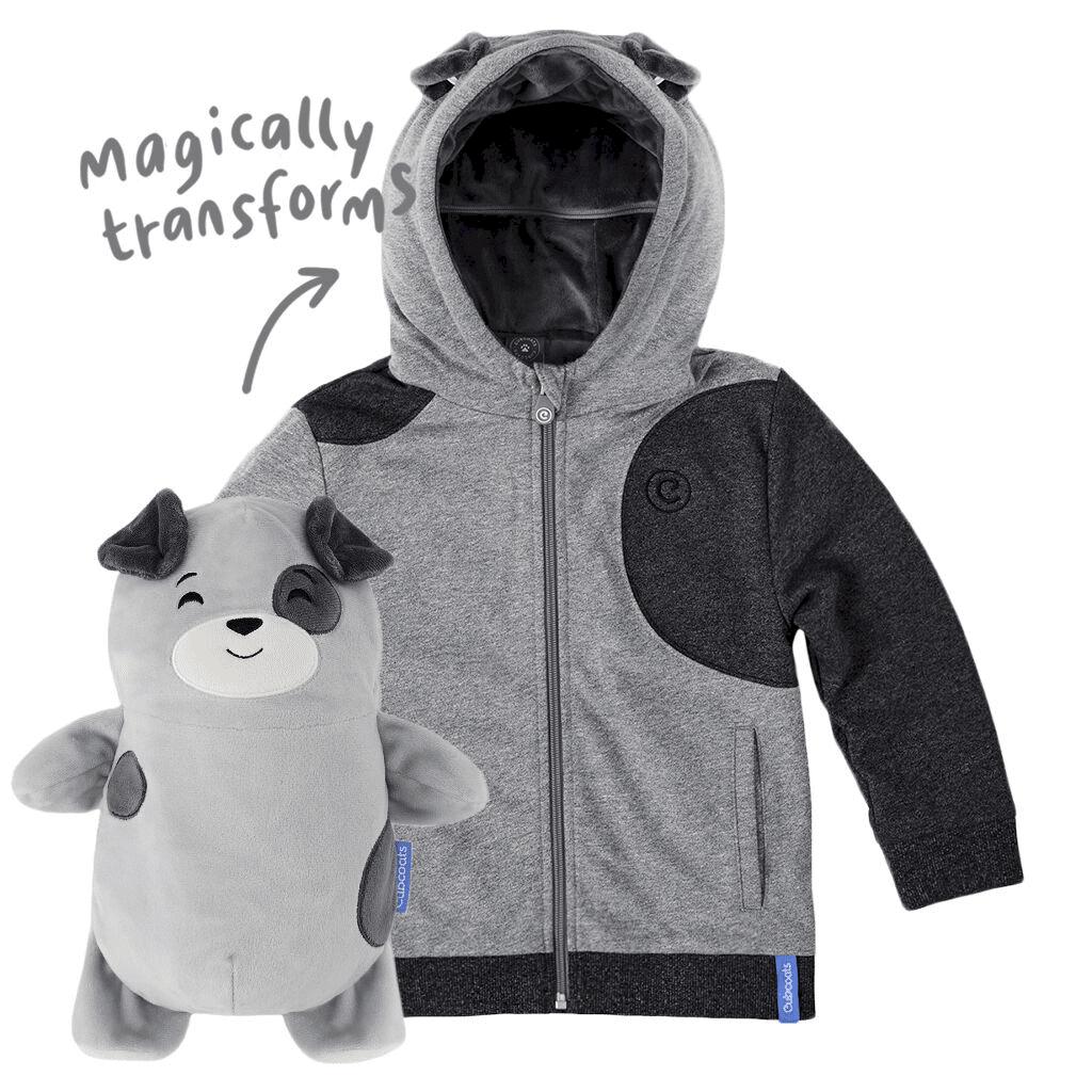 Cub coat next to cub stuffed animal