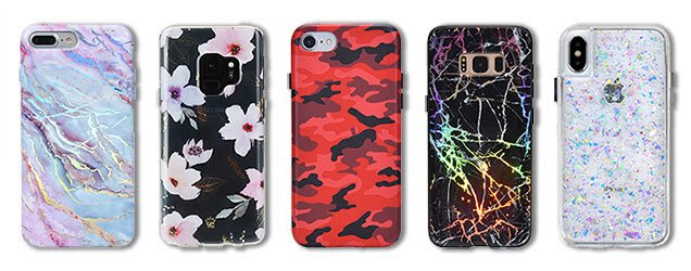 Cellphone cases, a top tech gift