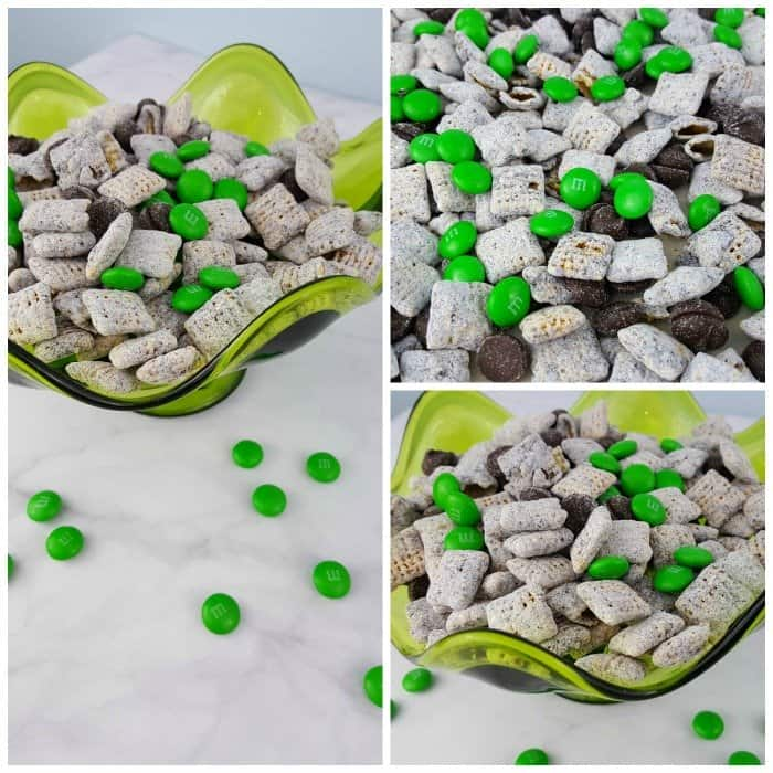 St. Patrick's Day Muddy Buddies Recipe